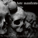 HATE MANIFESTO - for those who glorified death DigiCD