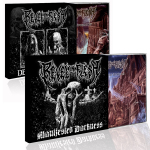 REVEL IN FLESH - manifested death CD Bundle