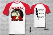 ENFORCER - the black angel baseball T-Shirt