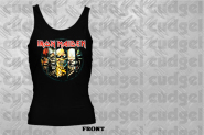 IRON MAIDEN - evolution black Girly tank