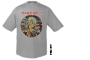 IRON MAIDEN - killers cover vintage T-Shirt