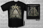 NILE - what should not be unearthed tour T-Shirt
