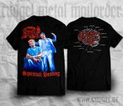 DEATH - spiritual healing brain T-Shirt  M