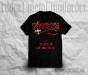 POSSESSED - logo-seven churches T-Shirt  M
