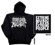 MORBID ANGEL - extreme music for extreme... Hoodie  L