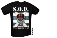 S.O.D. - speak english or die T-Shirt gr. M M