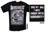 DEVOURMENT - crush with barbarity T-Shirt  M