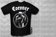 CORONER - logo T-Shirt