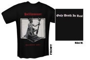 HELLHAMMER - apocalyptic raids red T-Shirt