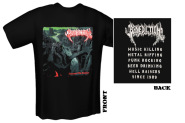 BENEDICTION - transcend the rubicon T-Shirt