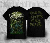VOMITORY - from the fiery pits T-Shirt  XL