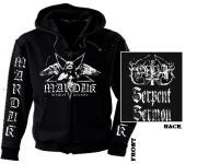 MARDUK - serpent sermon Zip Hoodie  XL
