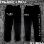 PARTY.SAN OPEN AIR - black JOGGING HOSE