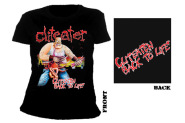 CLITEATER - cliteaten back to life Girlie Shirt