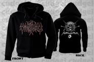 VOMITORY - death metal über alles Zip Hoodie  XL