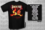 BENEDICTION - subconscious terror T-Shirt  L