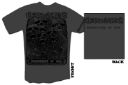 CARNAGE - infestation of evil grey T-Shirt  S