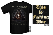 ARCH ENEMY - war eternal uncensored T-Shirt