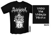 SARGEIST - unto the undead temple T-Shirt  XL