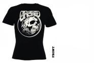 ORCHID - skull Girlie Shirt