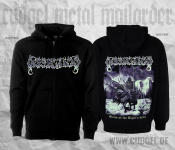 DISSECTION - storm of the lights bane Zip Hoodie  L