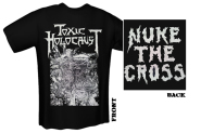 TOXIC HOLOCAUST - nuke the cross T-Shirt  XL