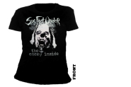 SIX FEET UNDER - the enemy inside Girlie Shirt