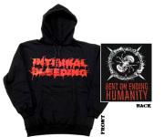 INTERNAL BLEEDING - bent on ending humanity Hoodie