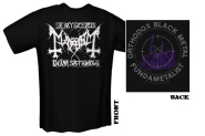 MAYHEM - orthodox black metal T-Shirt