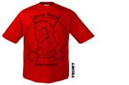 PORTA NIGRA - kaiserschnitt rot T-Shirt