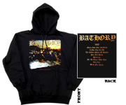 BATHORY - blood fire death Hoodie