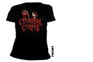 CANNIBAL CORPSE - blood ghoul V-neck Girlie Shirt