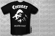 CORONER - death cult T-Shirt
