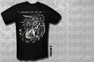 HARAKIRI FOR THE SKY - white owl T-Shirt  XL
