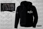 MGLA - as if the gods Zip Hoodie  L