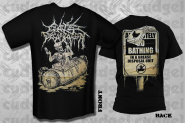 CATTLE DECAPITATION - bathing in a grease T-Shirt