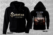 SABATON - shoot to kill Hooded Zipper