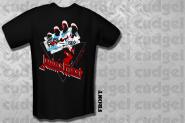 JUDAS PRIEST - british steel hand triangle T-Shirt  M