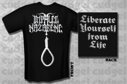 IMPALED NAZARENE - liberate yourself from life Shirt  XL