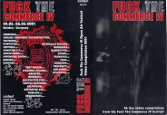 FUCK THE COMMERCE IV - festival compilation 2001 VHS