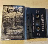 GRAVEYARD - for thine is the darkness  TAPE