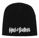 HAIL OF BULLETS - logo BEANIE
