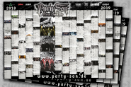 PARTY.SAN OPEN AIR - Kalender / Poster