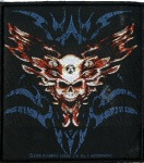 ALCHEMY - winged skull PATCH