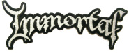 IMMORTAL - logo cut-out PATCH
