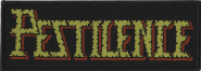 PESTILENCE - logo PATCH