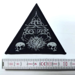 NAGLFAR - church of satan PATCH
