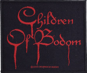 CHILDREN OF BODOM - logo PATCH