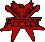 ACCEPT - cut out logo PATCH