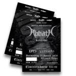 ABBATH, 1349 & VLTIMAS @ Weimar Uhrenwerk 23.01.2020